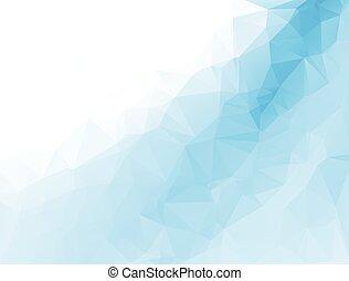 polygonal, vektor, háttér, mintalécek, mózesi, ügy, tervezés...