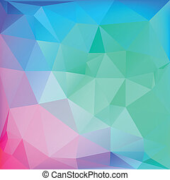 polygonal, web, abstraktes design, hintergrund