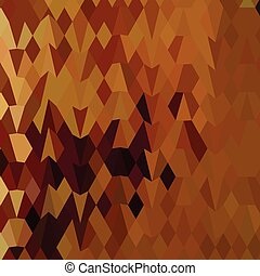 polygone, feuilles, automne, bas, fond, résumé
