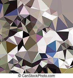 polygone, résumé, gris, davy, bas, fond
