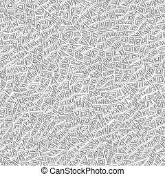 polygons., 패턴, 떼어내다, seamless