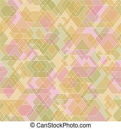 polygons., abstract, geometrisch, achtergrond