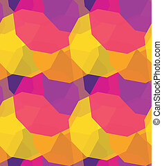 Polygons abstract seamless pattern