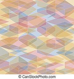 polygons., astratto, geometrico, fondo