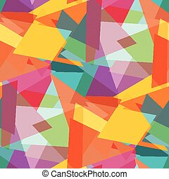 polygons colored abstract seamless background vector illustration