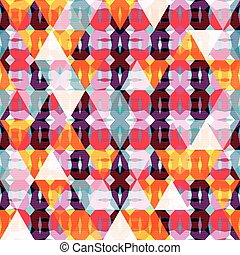 polygons geometric abstract seamless pattern