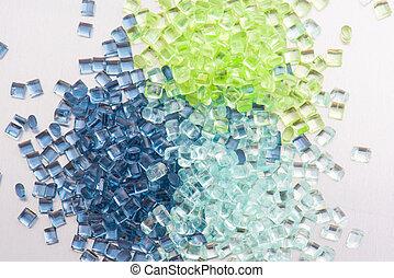polymer, 3, harze, durchsichtig
