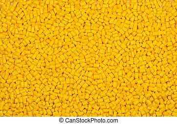 polymer, blondiert, harz, glas, gelber , gefüllt