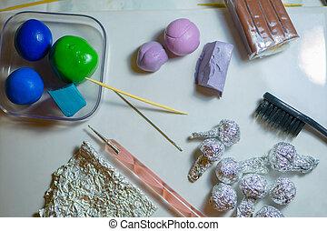 Polymer clay craft