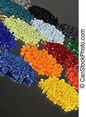 polymer, mehrere, harze, blondiert
