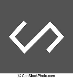 Polymer, plastic, molding icon vector image.Can also be used...