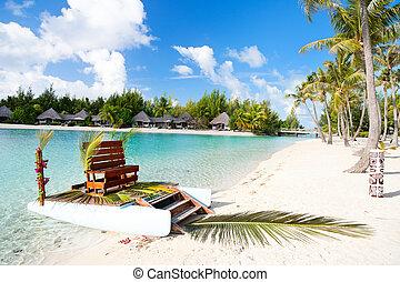 polynesiër, trouwfeest
