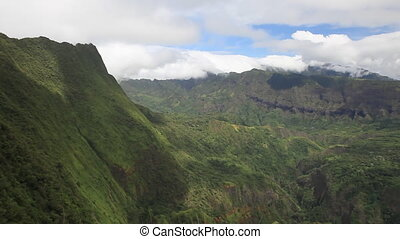 Polynesia - Interior of Tahiti Island in French Polynesia....