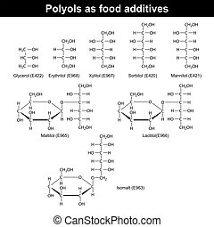 Polyols as food additives - Polyols which are used as food...