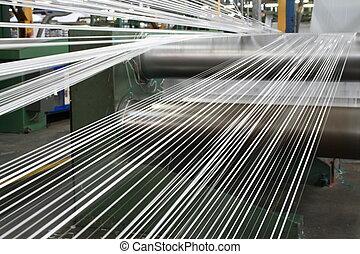polypropylene, linha, fita, fazer