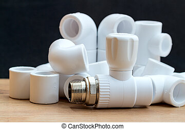 Polypropylene parts for plumbing
