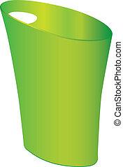 Polypropylene Waste Can