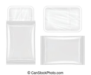 polystyrene and plastic packaging