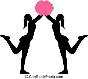 pom, twee, cheerleader