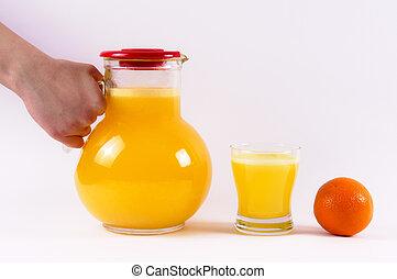 pomarańcza, życie