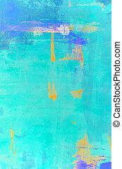 pomarańcza, abstrakcyjna sztuka, cyraneczka