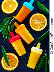 pomarańcza, icecream, swojski
