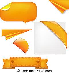 pomarańcza, komplet