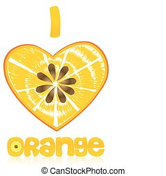 pomarańcza, miłość