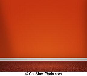 pomarańcza, pokój