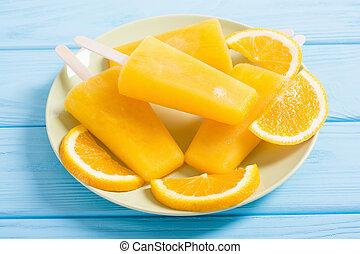 pomarańcza, popsicle, swojski