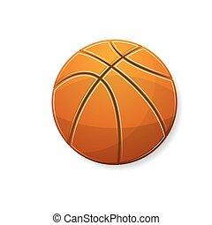pomarańcza, symbol, koszykówka