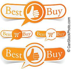 pomarańcza, tags., kupować, najlepszy