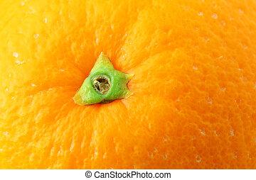 pomarańcza, zatkać się, skórka