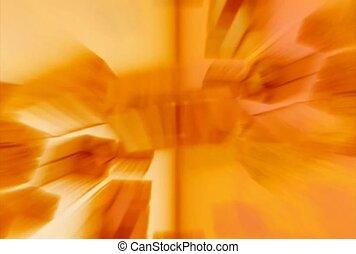 pomarańczowe tło