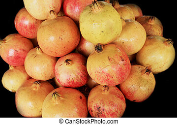 Pomegranate fruit in the market
