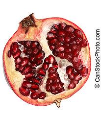 Pomegranate fruit part