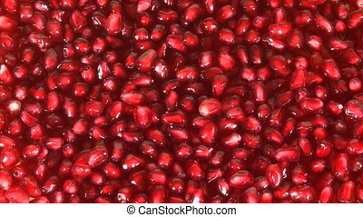 Pomegranate seeds background