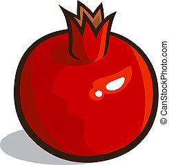 pomegranate clipart vector graphics 5 816 pomegranate eps clip art rh canstockphoto com pomegranate clipart free pomegranate images clipart