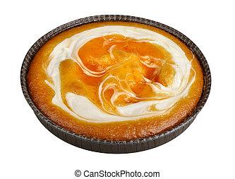 pomeranč, dort