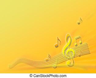 pomeranč, melodie
