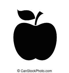 pomme, icône