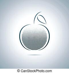 pomme, numérique