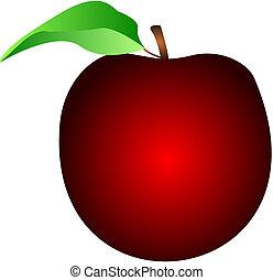 pomme, rouges
