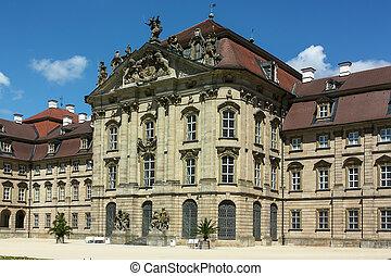 Castle Weißenstein built between 1711 and 1716,