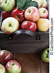 pommes, boisseau