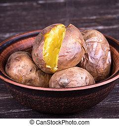 pommes terre, cuit