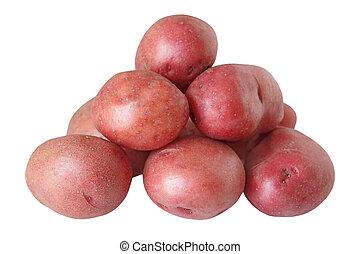 pommes terre, rouges