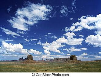 pomník údolí, arizona