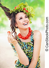 pomodoro, brunetta, proposta, bellezza