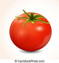 pomodoro, isolato